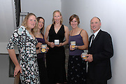Budapest, HUNGARY, 10/11/2007.  GBR W4X Female Crew and Coach of the year [2006],  at the 2007 FISA Coaches Conference. left to right, Frances HOUGHTON, Annie VERNON, Debbie FLOOD, Katherine GRAINGER with coach, Paul THOMPSON [Mandatory Credit Peter Spurrier/Intersport Images]