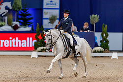 TAVARES DE ALMEIDA Pedro Manuel (BRA), Xiripiti <br /> München - Munich Indoors 2019<br /> Preis der Liselott und Klaus Rheinberger Stiftung<br /> Grand Prix de Dressage (CDI4*) <br /> Wertungsprüfung MEGGLE Champion of Honour,<br /> Qualifikation für Grand Prix Special<br /> 22. November 2019<br /> © www.sportfotos-lafrentz.de/Stefan Lafrentz