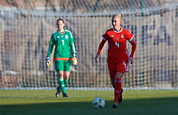 ZENICA, BOSNIA AND HERZEGOVINA - Tuesday, November 28, 2017: Wales' captain Sophie Ingle during the FIFA Women's World Cup 2019 Qualifying Round Group 1 match between Bosnia and Herzegovina and Wales at the FF BH Football Training Centre. (Pic by David Rawcliffe/Propaganda)