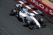 May 24, 2014: Monaco Grand Prix: Valtteri Bottas (FIN), Williams-Mercedes
