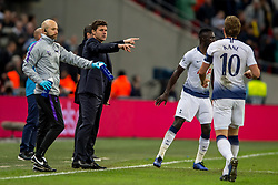 November 6, 2018 - London, Greater London, England - Mauricio Pochettino manager of Tottenham Hotspur during the UEFA Champions League Group Stage match between Tottenham Hotspur and PSV Eindhoven at Wembley Stadium, London, England on 6 November 2018. Photo by Salvio Calabrese. (Credit Image: © AFP7 via ZUMA Wire)