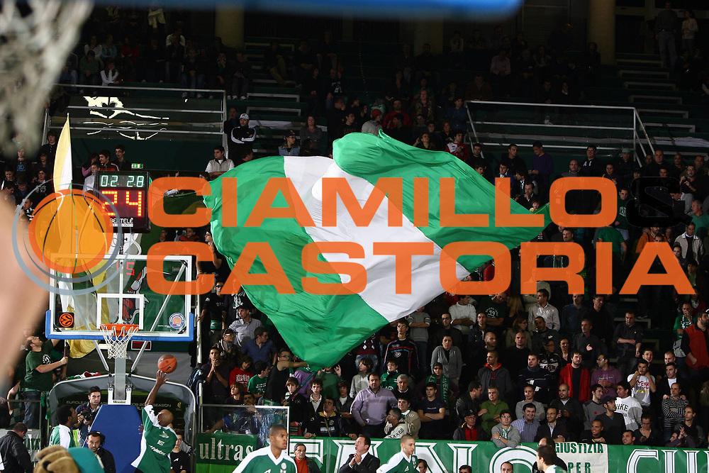 DESCRIZIONE : Avellino Eurolega 2008-09 Air Avellino Unicaja Malaga<br /> GIOCATORE : Tifo Tifosi Fan Fans Supporter Supporters<br /> SQUADRA : Air Avellino <br /> EVENTO : Eurolega 2008-2009<br /> GARA : Air Avellino Unicaja Malaga<br /> DATA : 05/11/2008 <br /> CATEGORIA : before<br /> SPORT : Pallacanestro <br /> AUTORE : Agenzia Ciamillo-Castoria/E.Castoria