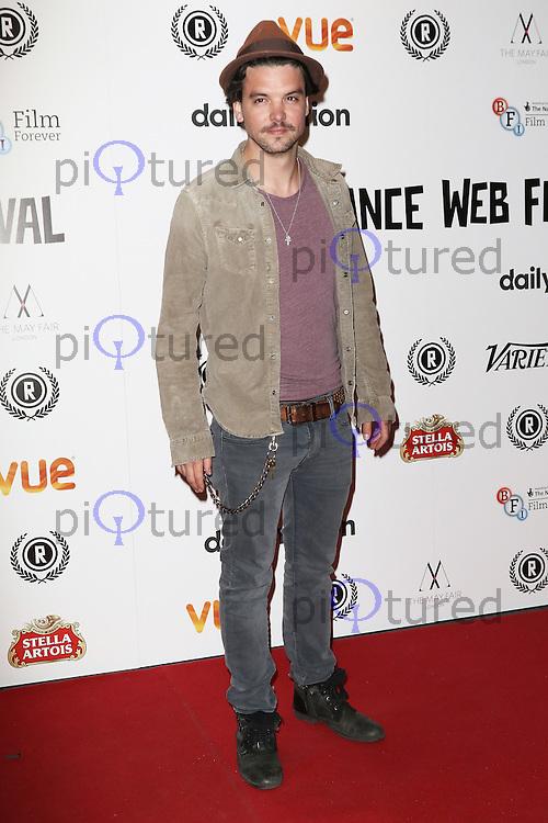 Andrew Lee Potts, Raindance Film Festival: Newcomer - Opening Gala, Vue Cinema Leicester Square, London UK, 23 September 2015, Photo by Richard Goldschmidt