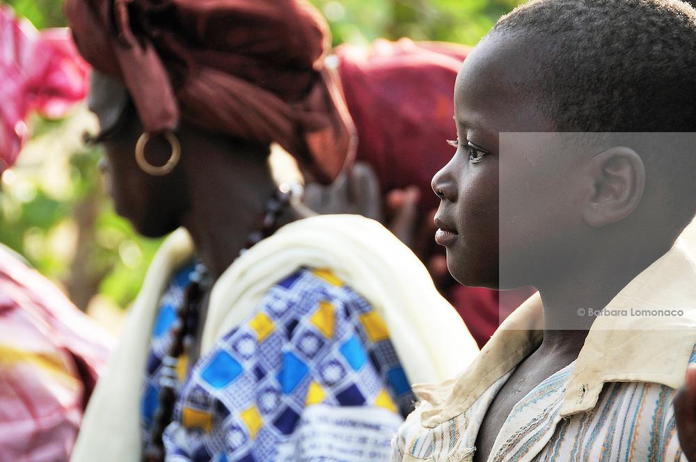 Families attending the Diabolo festival