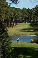 PORTUGAL - AROUIRA - Golfbaan Arouira II . Hole 10  . COPYRIGHT KOEN SUYK