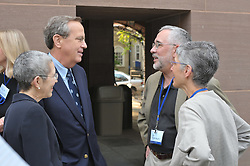President Richard C Levin visits the Yale Class of 1975 35th Reunion