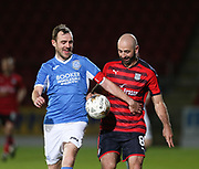 06/10/2017 - St Johnstone v Dundee - Dave Mackay testimonial at McDiarmid Park, Perth, Picture by David Young - Dave Mackay and Gary Harkins enjoying themselves as they return to play for their former clubs