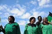 Women celebrating Freedom Day, the day that South Africa became a democracy and apartheid was abolished.