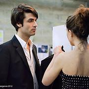Davy VETTER, comédien - tournage scène imposée de Benoît BOURREAU - emergence 2012