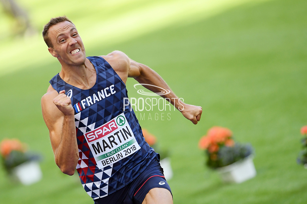 Romain Martin competes in men decathlon (100m) during the European Championships 2018, at Olympic Stadium in Berlin, Germany, Day 1, on August 7, 2018 - Photo Philippe Millereau / KMSP / ProSportsImages / DPPI