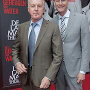 NLD/Amsterdam/20120617 - Premiere Het Geheugen van Water, Andre van Duin en partner Martin Elferink