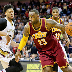12-04-2015 Cleveland Cavaliers at New Orleans Pelicans