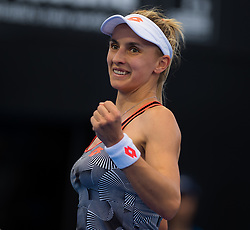 January 5, 2019 - Brisbane, AUSTRALIA - Lesia Tsurenko of the Ukraine in action during the semifinal of the 2019 Brisbane International WTA Premier tennis tournament (Credit Image: © AFP7 via ZUMA Wire)