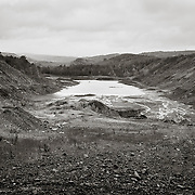Strip Mine, near Pottsville, PA