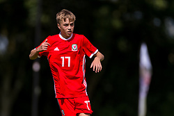 WREXHAM, WALES - Thursday, August 15, 2019: Wales' Alex Roberts during the UEFA Under-15's Development Tournament match between Wales and Northern Ireland at Colliers Park. (Pic by Paul Greenwood/Propaganda)