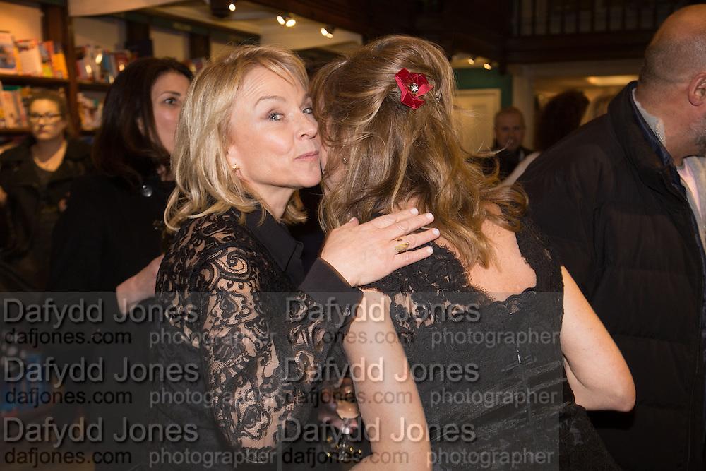 HELEN FIELDING; ALLIE ESIRI; , Allie Esiri's The Love Book launch party , Daunt Books <br /> 83 Marylebone High Street, London. 5 February 2014