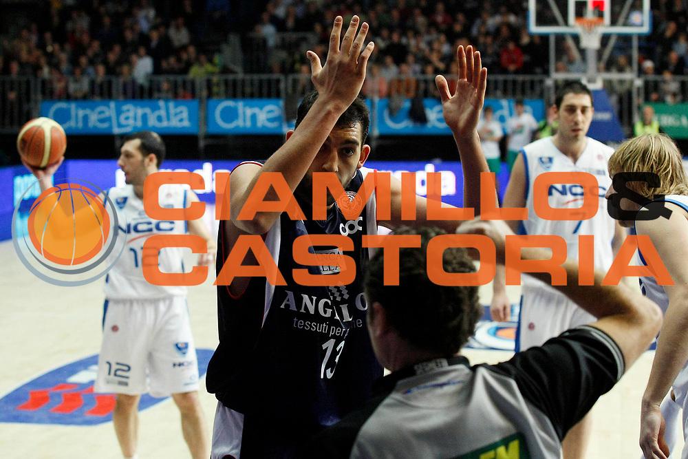 DESCRIZIONE : Cantu Lega A1 2008-09 NGC Cantu Angelico Biella<br /> GIOCATORE : Luca Garri Arbitro<br /> SQUADRA : Angelico Biella<br /> EVENTO : Campionato Lega A1 2008-2009<br /> GARA : NGC Cantu Angelico Biella<br /> DATA : 14/12/2008<br /> CATEGORIA : Delusione<br /> SPORT : Pallacanestro<br /> AUTORE : Agenzia Ciamillo-Castoria/G.Cottini