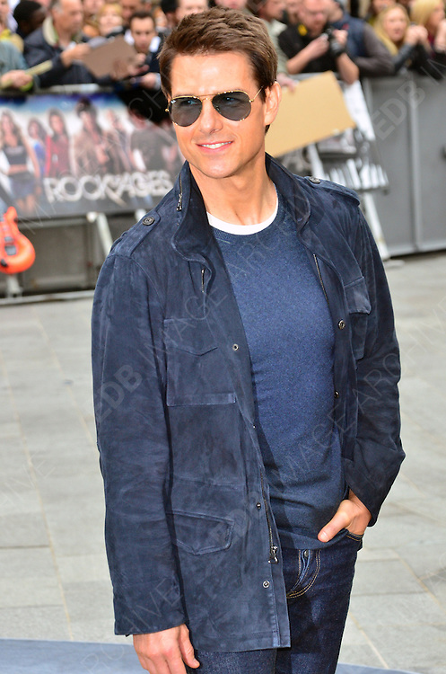 10.JUNE.2012. LONDON<br /> <br /> TOM CRUISE ATTENDS THE UK FILM PREMIERE OF ROCK OF AGES AT THE ODEON CINEMA IN LEICESTER SQUARE.<br /> <br /> BYLINE: JO ALVAREZ/EDBIMAGEARCHIVE.CO.UK<br /> <br />  *THIS IMAGE IS STRICTLY FOR UK NEWSPAPERS AND MAGAZINES ONLY*<br /> *FOR WORLD WIDE SALES AND WEB USE PLEASE CONTACT EDBIMAGEARCHIVE - 0208 954 5968*
