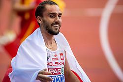05-03-2017  SRB: European Athletics Championships indoor day 3, Belgrade<br /> Adam Kszczot veroverde voor de derde keer in zijn loopbaan de Europese indoortitel op de 800 m