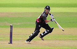 Max Waller of Somerset in action.  - Mandatory by-line: Alex Davidson/JMP - 22/07/2016 - CRICKET - Th SSE Swalec Stadium - Cardiff, United Kingdom - Glamorgan v Somerset - NatWest T20 Blast