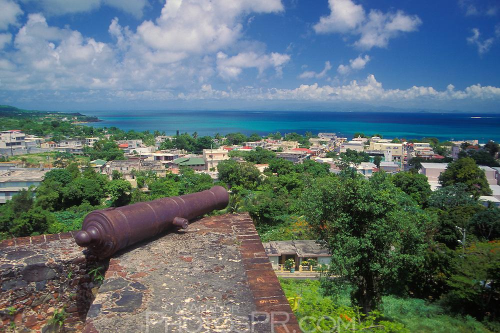 Conde de Mirasol Fort looking towards Isabel II town.