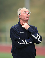 Photo: Chris Ratcliffe.<br />England Training Session. FIFA World Cup 2006. 28/06/2006.<br />Sven Goran Eriksson in training.