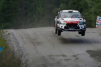 04 Citroen Total Abu Dhabi WRT, Ostberg Mads, Andersson Jonas, DS3 WRC, Action during the 2015 WRC World Rally Car Championship, Finland rally from August 1st to 2nd, at Jyvaskyla, Finland. Photo Francois Baudin / DPPI / Austral