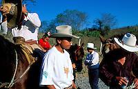 Mexique, Michoacan, Rodéo à La Mira