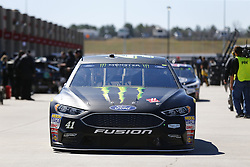 March 3, 2017 - Hampton, Georgia, United States of America - March 03, 2017 - Hampton, Georgia, USA: Kurt Busch (41) heads out of the garage to practice for the Folds of Honor QuikTrip 500 at Atlanta Motor Speedway in Hampton, Georgia. (Credit Image: © Justin R. Noe Asp Inc/ASP via ZUMA Wire)