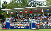 MADRID, SPAIN - MAY 05:  CSI 5 de Madrid /Longines Global Champions Tour 2013 at Club de Campo Villa de Madrid on May 05, 2013 in Madrid, Spain. (Photo by Manuel Queimadelos)