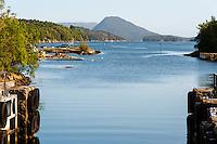 Tysvær, Norway. Skjoldastraumen lock.