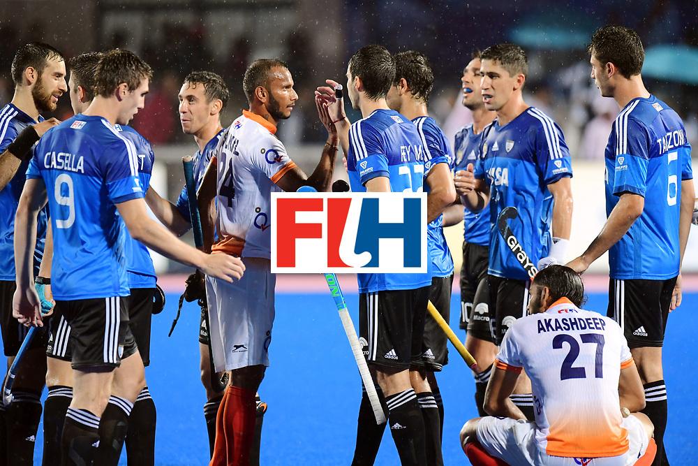Odisha Men's Hockey World League Final Bhubaneswar 2017<br /> Match id:19<br /> India v Argentina<br /> Foto: Argentina wins the Semi Final From India<br /> COPYRIGHT WORLDSPORTPICS FRANK UIJLENBROEK