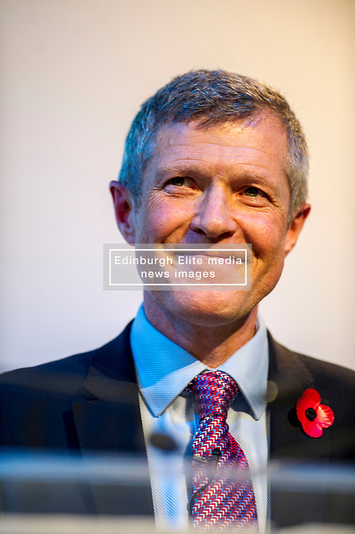 Pictured: Scottish Liberal Democrat leader Willie Rennie<br /> The Scottish Liberal Democrats stalwarts gathered today in Dunfermline for their Autumn Conference<br /> <br /> Ger Harley   EEm 11 November 2017