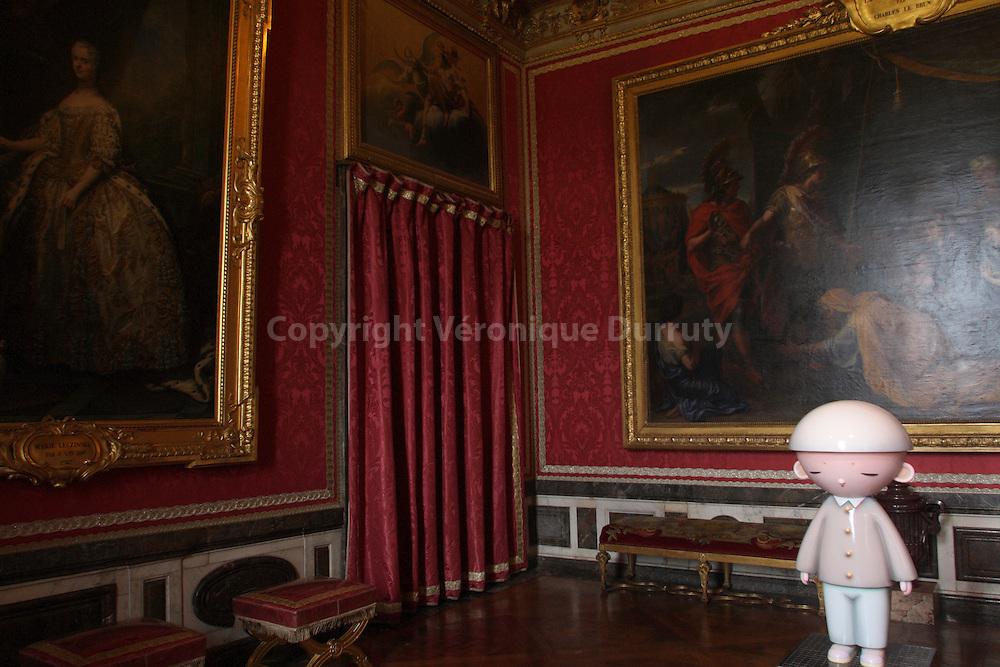 Takashi Murakami Exhibition At The Chateau De Versailles.