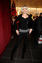 NOELLE RENO at a party to celebrate the opening of the new H&M store at 234 Regent Street, London on 13th February 2008.<br /><br />NON EXCLUSIVE - WORLD RIGHTS