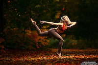 Dance As Art New York City Photography Project Central Park Fall Series with dancer, Erika Citrin