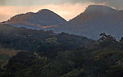 """Horton Plains National Park, """"Maha-Eliya"""" in Sinhala, is a national park in the highlands of Sri Lanka. The left peak in the picture is Kirigalpotha (2395 m) the second highest mountain in Sri Lanka....."""