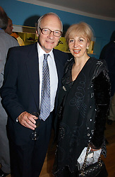 LORD & LADY RENWICK at a party to celebrate the publication of Glass Houses by Sandra Howard held at Tamesa, Oxo Tower Wharf, Barge House Street, London SE1 on 5th September 2006.<br />
