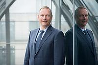 02 SEP 2014, BERLIN/GERMANY:<br /> Georg Fahrenschon, Praesident des Deutschen Sparkassen- und Giroverbands, DSGV, Berliner Sitz des DSGV<br /> IMAGE: 20140902-01-026