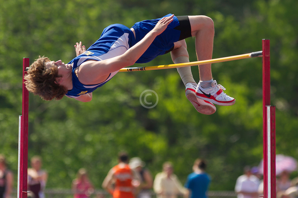 boys high jump, Maine State Track & FIeld Meet - Class B