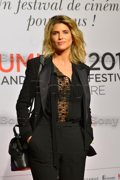 Alice Taglioni<br /> Lyon 8 oct 2016 - Festival Lumi&egrave;re 2016 - C&eacute;r&eacute;monie d&rsquo;Ouverture<br /> 8th Film Festival Lumiere In Lyon : Opening Ceremony