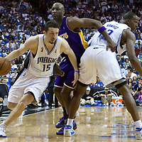 BASKET BALL - PLAYOFFS NBA 2008/2009 - LOS ANGELES LAKERS V ORLANDO MAGIC - GAME 3 -  ORLANDO (USA) - 09/06/2009 - .HEDO TURKOGLU (MAGIC), LAMAR ODOM (LAKERS), DWIGHT HOWARD (MAGIC)