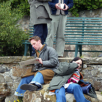 Filming of 16 Years of Alcohol in Aberdour 21.06.02<br />