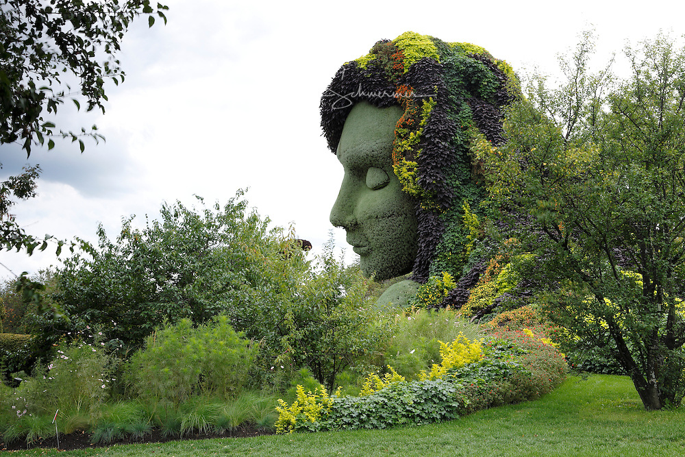 Plant sculpture, Mosaiculture Exposition 2013, Montreal, Province Quebec, Canada