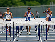 Hampton Lady Pirate Kellie Wells (152) competes in the 2006 MEAC Track and Field Championships in Greensboro, North Carolina.  May 06, 2006  (Photo by Mark W. Sutton)