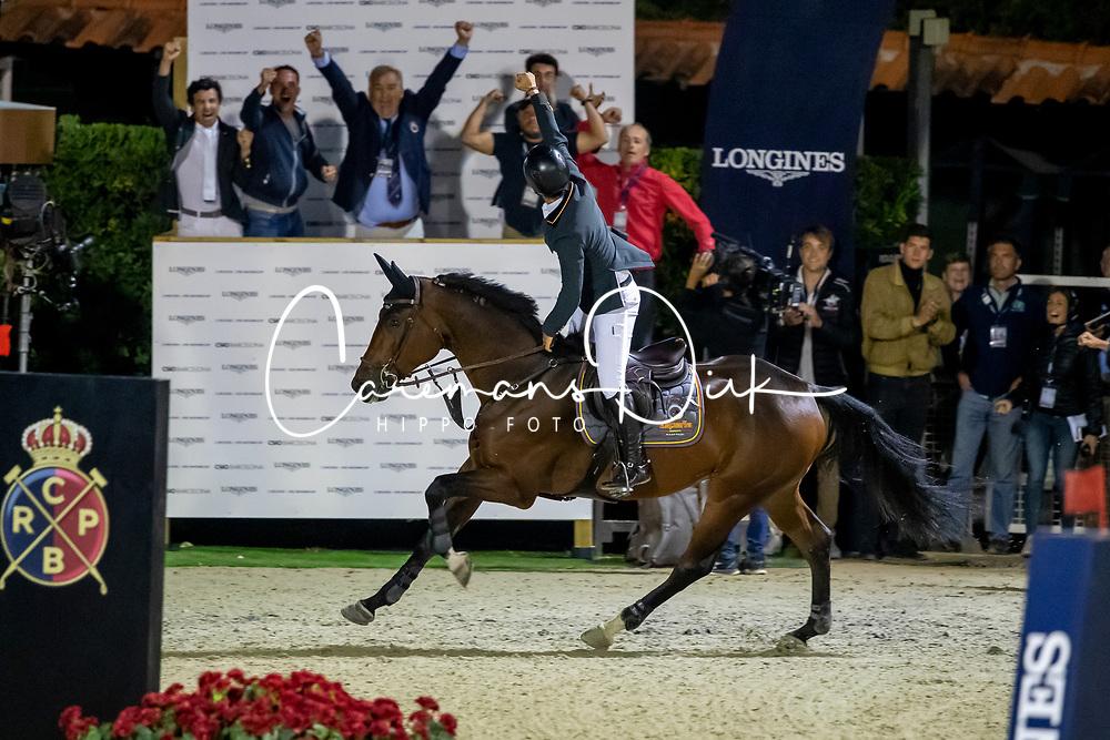 Alvarez Moya Sergio, ESP, Jet Run<br /> Longines FEI Jumping Nations Cup Final<br /> Challenge Cup - Barcelona 2019<br /> © Dirk Caremans<br />  05/10/2019
