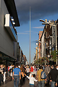 The Spire, Dublin - officially the Monument of light, designed by Ian Ritchie Architects, it's the world's tallest sculpture.