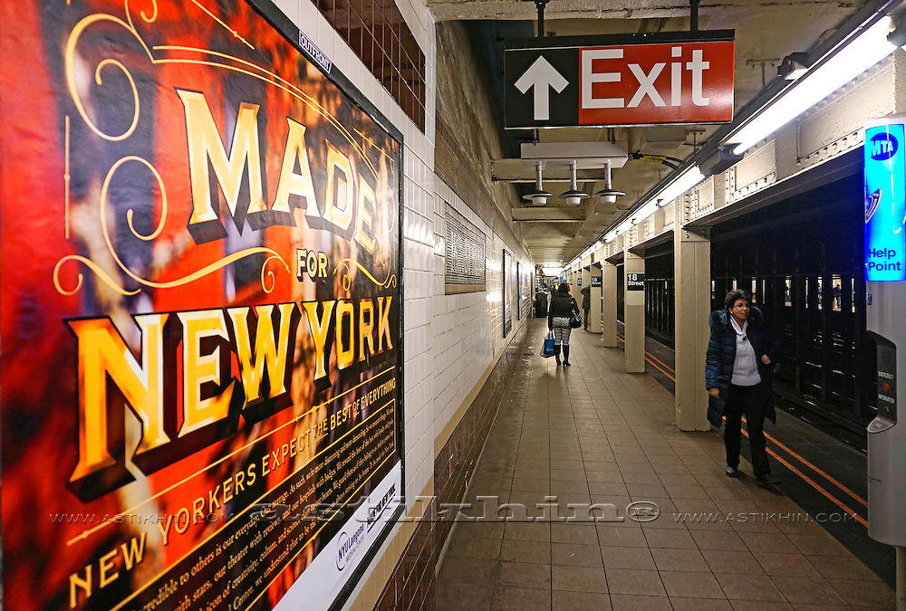 Made for New York in Subway.