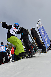 Europa Cup Finals Banked Slalom, PATMORE Simon, AUS at the 2016 IPC Snowboard Europa Cup Finals and World Cup