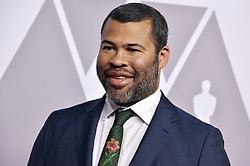 Jordan Peele arrives at the 90th Annual Academy Awards Nominee Luncheon held at the Beverly Hilton in Beverly Hills, CA on Monday, February 5, 2018. (Photo By Sthanlee B. Mirador/Sipa USA)